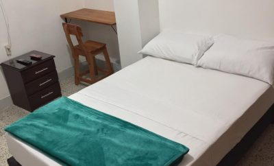 Room (4) with private bathroom in 7-Bedroom Student Apartment in Medellin